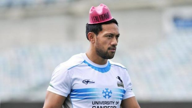 Wallabies centre Christian Lealiifano says he'll only play with the Brumbies in Australia.
