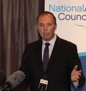 "Peter Dutton has been alleged to be ""spreading a carefully cultivated falsehood"" and ""using scare tactics""."