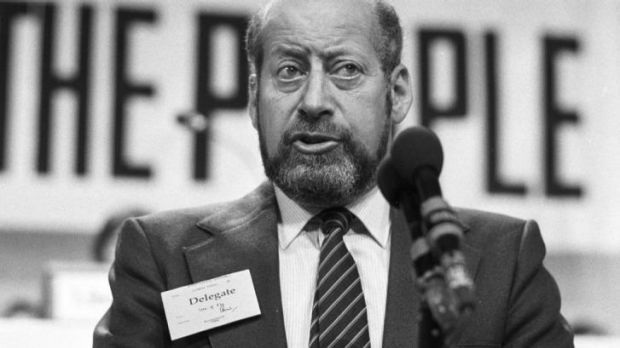 Racing man and grandson of Sigmund Freud: Clement Freud.