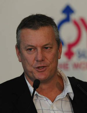 AFL General Manager of Football Operations Mark Evans.