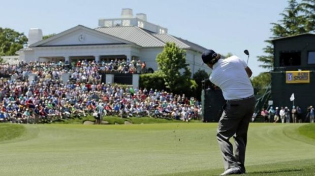 On the charge: Phil Mickelson.