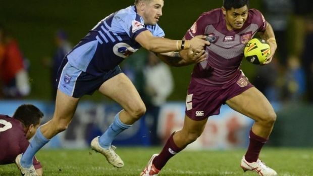 Carrot: Anthony Milford was pressured into playing for Queensland's Under-20s rather than Samoa as he was told it would ...