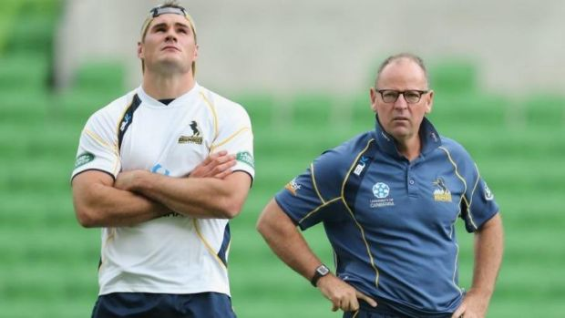 Brumbies skipper Ben Mowen says the players haven't spoken about former coach Jake White's return with the Sharks.