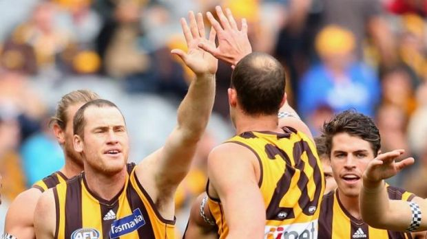 Jarryd Roughead nsists Hawthorn does not hold any grudge against its departed dual premiership superstar.