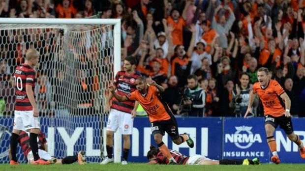 Late drama: Henrique's extra-time winner finished the Wanderers.