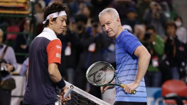 Former world No. 1 tennis player John McEnroe