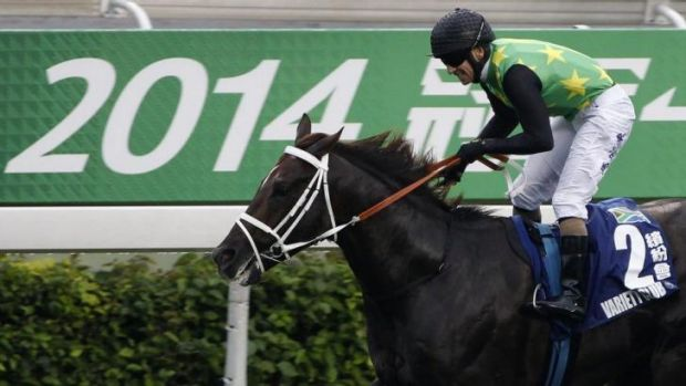 First past the post: Variety Club is the first overseas winner of the Champions Mile.