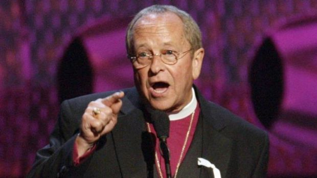 Bishop Gene Robinson has announced he and his husband of four years will divorce.