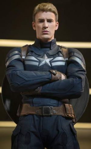 Chris Evans in <i>Captain America: The Winter Soldier</i>.