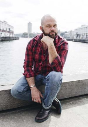 Broader vision: Playwright Lachlan Philpott.