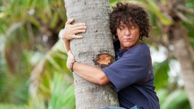 Binge hit ... Chris Lilley as his latest creation, <i>Jonah from Tonga.</i>