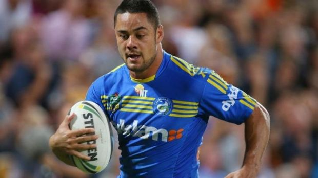 Recovered: Parramatta fullback Jarryd Hayne will be back for his club this weekend.