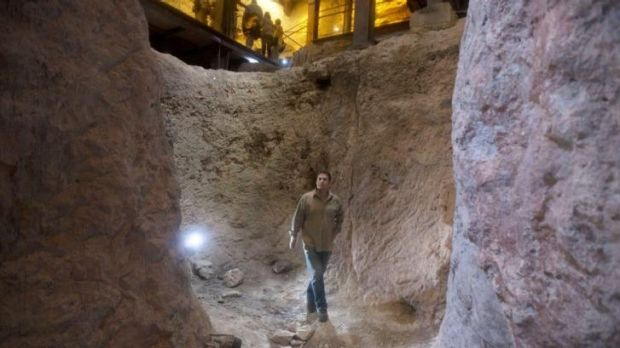 Eli Shukron, who excavated at the site for nearly two decades, says he believes there is strong evidence that it is the ...