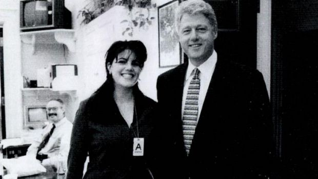 Silence broken: Monica Lewinsky has spoken of her affair with Bill Clinton.