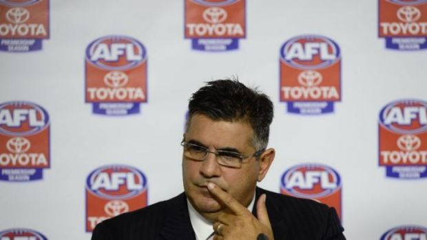 Andrew Demetriou says the latest rule revision regarding head clashes might need another look.