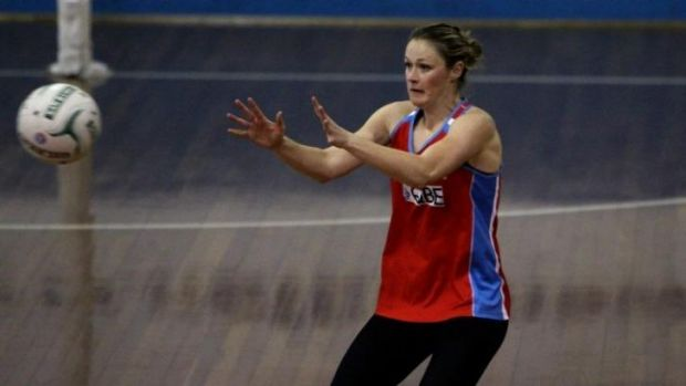 Passed over: NSW Swifts play Susan Prately missed national selection.