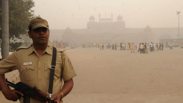 Pollution in New Delhi has been named the worst of any city by the World Health Organisation.