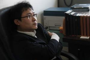 Looking to the future: Jang Jin Sung now lives in South Korea.