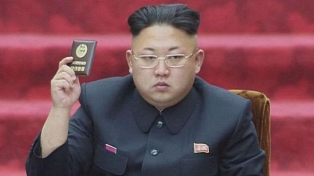Not an Obama supporter ... North Korean leader Kim Jong-un's state propaganda machine has made racist attacks on the US ...