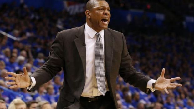 Embattled Clippers coach Doc Rivers.