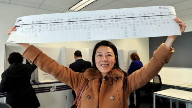 There have been concerns about the ballooning size of the ballot paper - for example, the 2013 Victorian Senate ballot ...