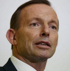 Reasoning is as simple as it is heroic: PM Tony Abbott.