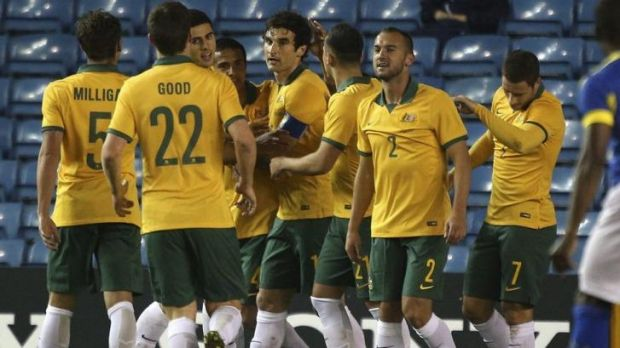 Generation next: The Socceroos, likely to be led by Mile Jedinak (centre) in Brazil, will be virtually unrecognisable to ...