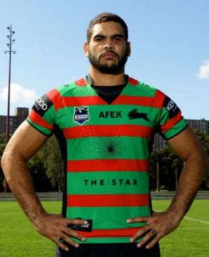 South Sydney's Greg Inglis.