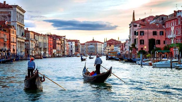 Calm reality: The protagonist's sleuthing is made to glow by the author's familiarity with Venice.