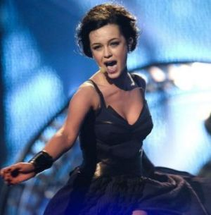 Mariya Yaremchuk representing Ukraine performs the song <i>Tick-Tock</i>.