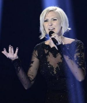 Sanna Nielsen representing Sweden performs the song <i>Undo</i>.