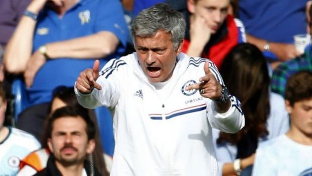 """Jose Mourinho: """"For some teams, the third position is something that people live with in a happy way. We don't. I don't. ..."""
