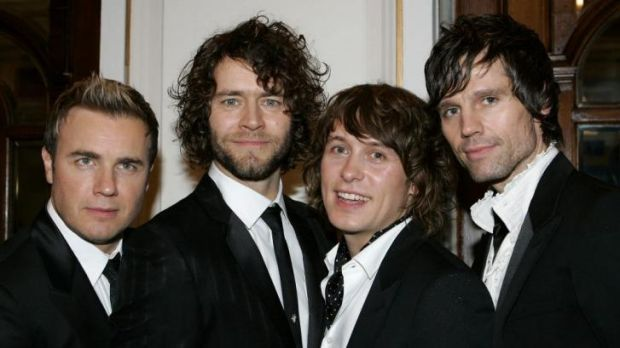 New tour possible: Take That members Gary Barlow, Howard Donald, Mark Owen and Jason Orange in 2006.  Barlow, Donald and ...