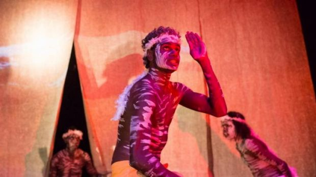 Fusion: Djuki Mala (the Chooky Dancers) combine traditional Aboriginal and contemporary forms of dance.