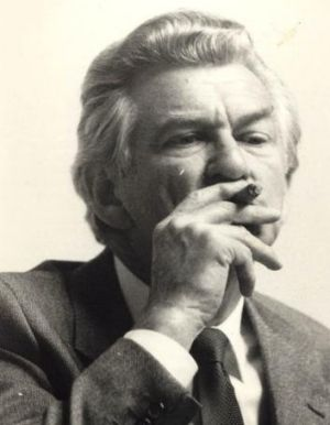 High-profile cigar tragic: Bob Hawke.