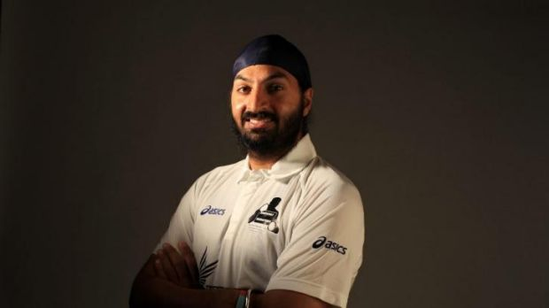 Occasionally destructive English spinner Monty Panesar.