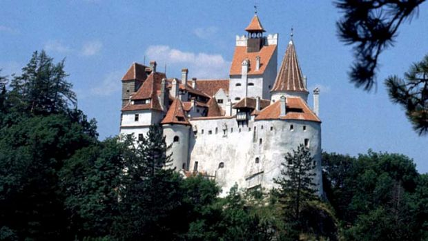 High stakes: Dracula's home is on the market.