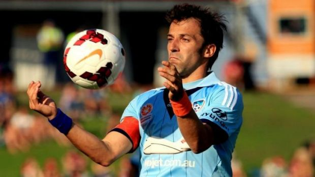 Alessandro Del Piero will play at least one more game in Australia.