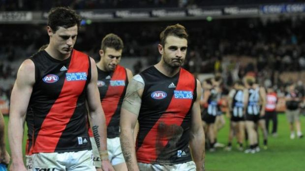 Jake's bake: Jake Carlisle criticised Essendon's midfield