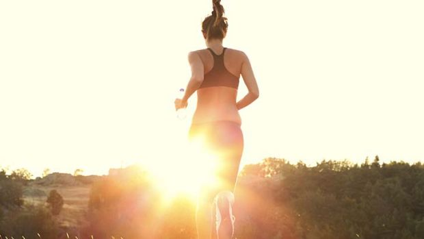 Up and at 'em: make no excuses for exercise.
