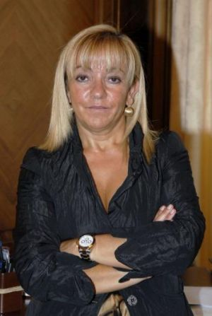Leon provincial council chief Isabel Carrasco in 2007.