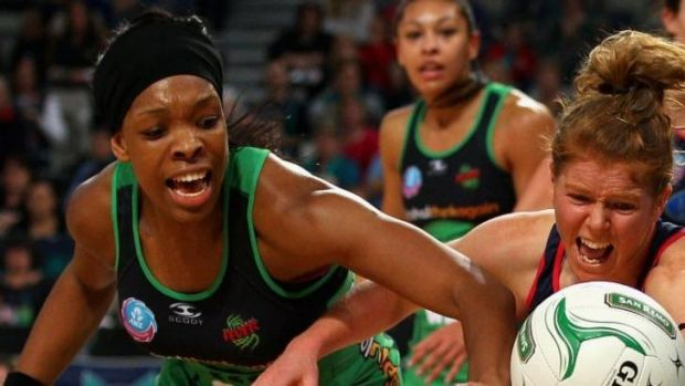West Fever's Eboni Beckford-Chambers will miss Sunday's clash with the Melbourne Vixens.