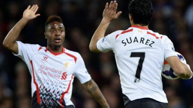 Changing of the guard: Liverpool's Raheem Sterling is expected to play in Brazil.