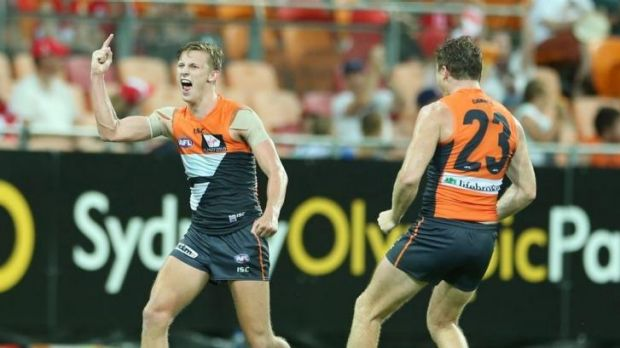 Giant gap in the calendar: There was early joy for GWS when it defeated Sydney at Spotless Stadium in round one.