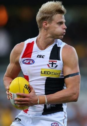 Nick Riewoldt kicked four goals and set up two  more against Carlton on Monday, but he needed to be twice as good for ...