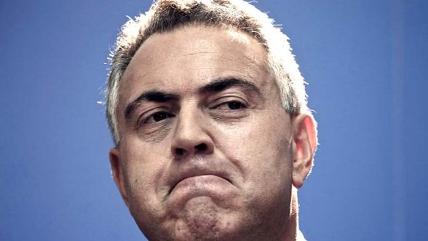 Looking like a man in too great of a hurry: Treasurer Joe Hockey's budget may fall short on fairness.