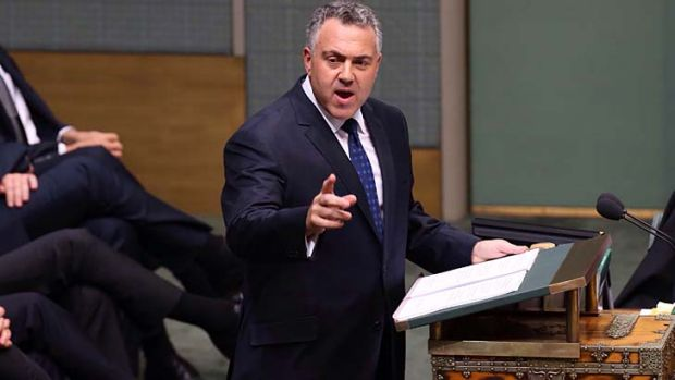 Treasurer Joe Hockey delivers his first budget last week.