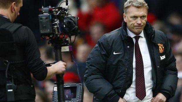 Disappointing year: David Moyes.