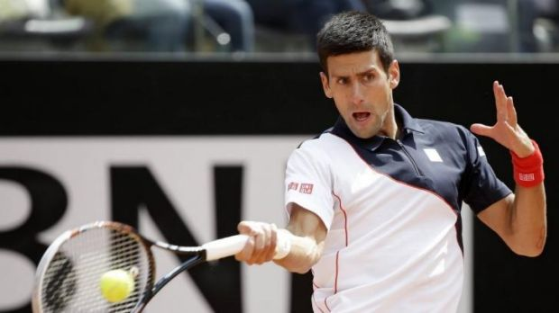Novak Djokovic returned to Rome for the eighth consecutive year.