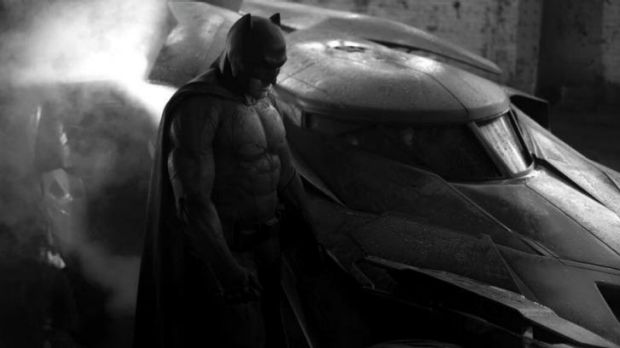 Director Zack Snyder posted a sneak peek of Ben Affleck as Batman.